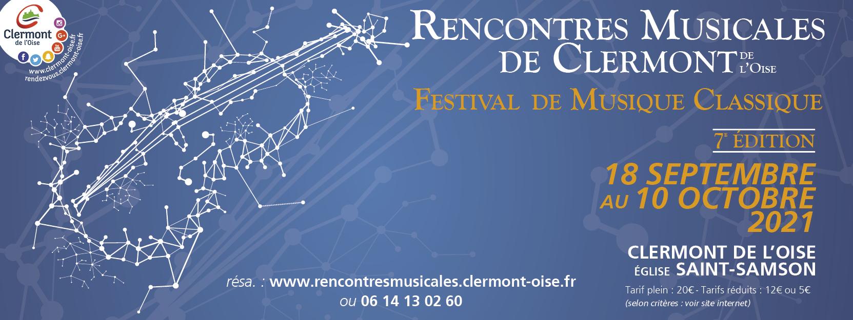 Rencontres Musicales de Clermont de l'Oise